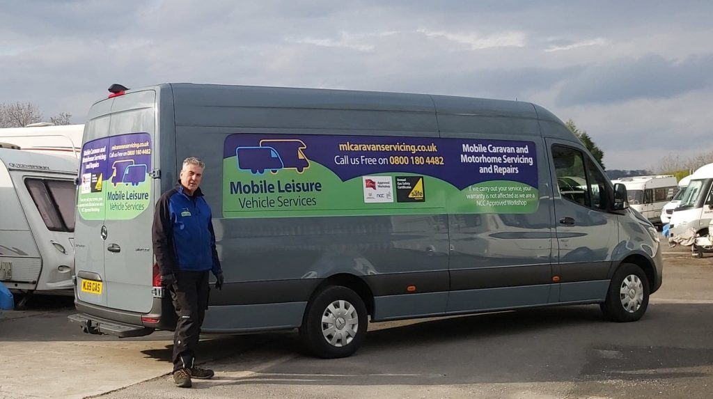 Mobile Leisure Vehicle Services | New Van Livery